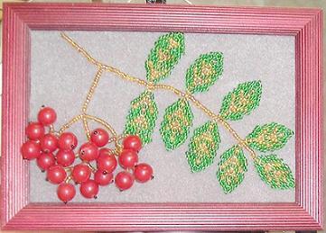 Бисер схемы плетения панно